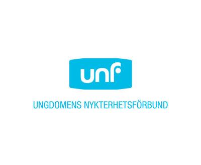 Klistermärken: UNF-logga