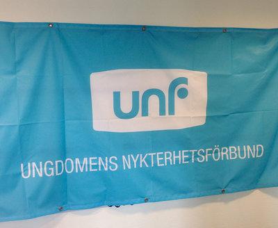 UNF-banderoll
